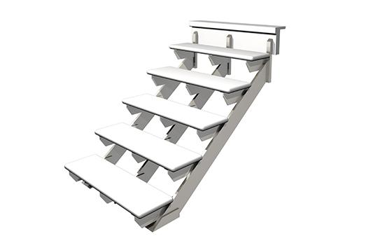 escalier quebec