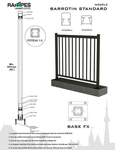 rampe-barrotin-standard
